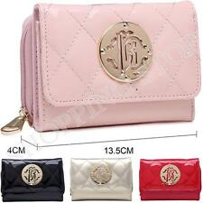 Fashion Womens Girls Quilted  Zip Small Coin Purse Ladies Wallet Card Holder Pou