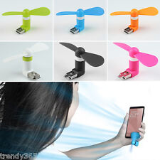 Mini USB cum Mobile Portable Fan for Mobile Phones,Power Banks & Android Devices