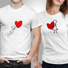 Couple Tshirts- Heart Balloon (by iberrys)