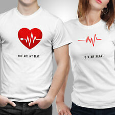 Couple Tshirts- Heart Beat (by iberrys)