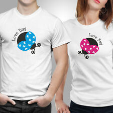 iberrys-Couple Tshirts DryFit Polyester- Love Bugs