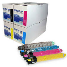 REMANUFACTURED RICOH 841124 841127 841126 841125 LASER TONER CARTRIDGE MULTIPACK