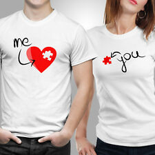 iberrys-Couple Tshirts DryFit Polyester- Love Me