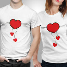 iberrys-Couple Tshirts DryFit Polyester- Love Strings