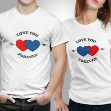 iberrys-Couple Tshirts DryFit Polyester- Love-U-Foreve