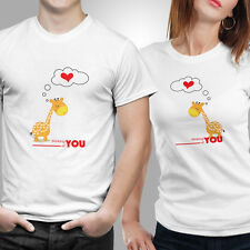 Couple Tshirts- Thinking of you (by iberrys)