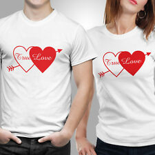 iberrys-Couple Tshirts DryFit Polyester- True Love