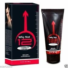 Why Not 12 Massage Cream for Men 60gm (Enlargement Cream) MRP Rs 350/-
