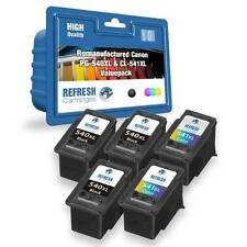 REMANUFACTURED CANON 3x PG-540XL & 2x CL-541XL 5 INK CARTRIDGE SUPER VALUE PACK