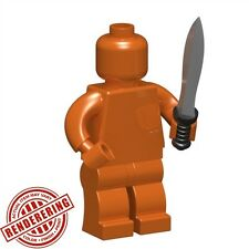 Custom GLADIUS Sword 5 PACK for Lego Minifigures LOTR Castle Roman -Pick color!