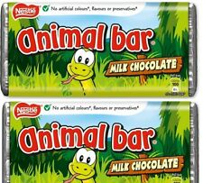 Nestle Animal Bars Wrapped Milk Chocolate Bars Retro Sweets Qty 6 to 44 Full Box