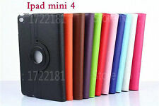 360° Rotating Smart Stand Case Cover For Apple iPad Mini 4