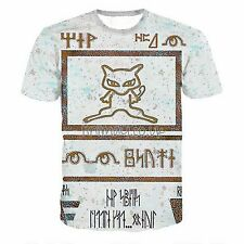 POKEMON ANIME ANCIENT MEW POKEMON CARD MOVIE T SHIRT TEE HD PRINT MENS UNISEX