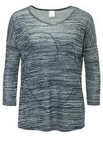 Vero Moda Damen Langarmshirt Women 3/4 Top Shirt Blue 34/36/38/40 WOW 40%