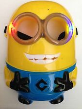 3 Model Mask Minion Mask -Face Halloween-Light Darth Vader Empire with LED Light