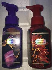 Bath & Body Works Foaming Soap Sapphire Plum & Malaysian Pomegranate Set Rare