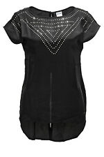 Vero Moda Damen Longshirt Bluse Top Longtop Black 34 36 38 40 42 SALE - 50%