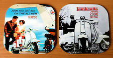 Scooter Coasters, 60s Mod Scooter Coaster, SX Scooter coasters, Scooter Gift