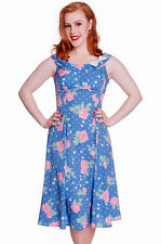 FLORAL DRESS 1950s Retro Style Rockabilly Pin Up 8 10 12 bridesmaid dresses
