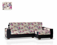Cubre Chaise Longue Ginger Lila- Brazo Derecho