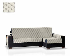 Cubre Chaise Longue Glamour Taupe- Brazo Derecho