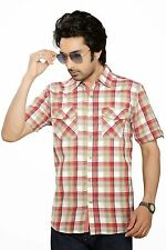 Moksh Men's Checkered Casual Shirt  I0414MS04SS
