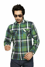 Moksh Men's Checkered Casual Shirt I0414MS18LS