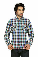 Moksh Men's Checkered Casual Shirt I0414MS15LS