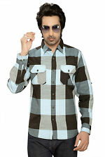 Moksh Men's Checkered Casual Shirt I0414MS14LS