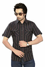 Moksh Men's Checkered Casual Shirt I0414MS02SS