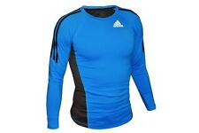 Adidas MMA Long Sleeve Rashguard Football Skins Compression Top