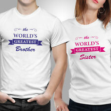 Rakhi/Rakshabandhan Special Brother Sister 5 Gift Combo T-shirts - Set of 2