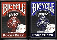 CARTE DA GIOCO BICYCLE PRO POKER PEEK,poker size