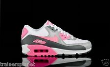 Women's Nike Air Max 90 Essential 616730-102 White/Pink Glow/Cool Grey/Wolf Grey
