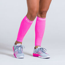 Zero Point Compression Performance Calf Sleeves (Bright Pink)
