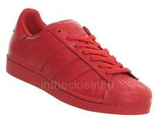 Adidas Superstar Pharrell Williams Red Supercolor Mens Shell Toe Trainers S41833
