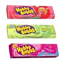 Hubba Bubba Chewing Gum Packs 3 Flavours Qty 5 10 or 20 Packs Bubble Gum Sweets