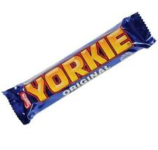 Nestle Yorkie Chocolate Bars Retro Sweet Standard Size Bars Qty 6 to 36 Full Box