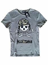 JACKASS - OFFICIAL LOGO T-SHIRT (NEU/NEW) [MTV, JOHNNY KNOXVILLE, CHRIS PONTIUS]
