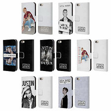 OFFICIAL JUSTIN BIEBER KEY ART LEATHER BOOK WALLET CASE FOR APPLE iPHONE PHONES