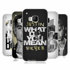 OFFICIAL JUSTIN BIEBER PURPOSE B&W SOFT GEL CASE FOR HTC PHONES 1