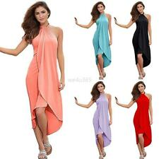 Sexy Grace Women Summer Boho Long Maxi Evening Party Pretty Dress Beach Sundress