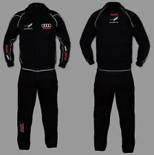 AUDI QUATTRO Jogginganzug Anzug Set Sweat Suit Trainings Jacke Hose s line rs