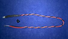 DIFFUSED 3mm 6 VOLT FLASHING COLOUR LEDS  200mm LEADS,& CLIPS