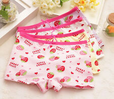 Children Boxer Cute  Knickers Shorts Kids Girls Briefs Underpants Underwear New