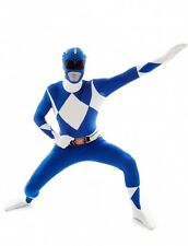 Déguisement Morphsuits Power Rangers bleu adulte Cod.224410