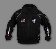 Neu Herren Fleece Jacke BMW M-Power Auto Motor Sport