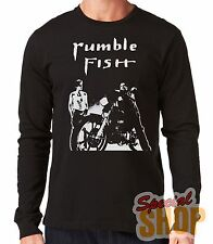 "T-SHIRT MANGA LUNGA""RUMBLE FISH""LONG SLEEVE"