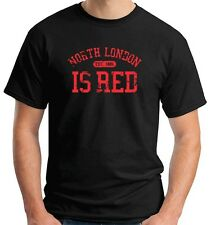 T-shirt WC0188 ARSENAL T-SHIRT - NORTH LONDON IS RED