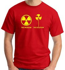 T-shirt T0889 teh problem the solution ecologia fun cool geek